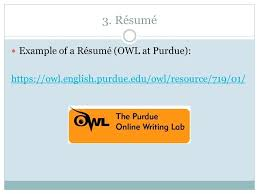 owl purdue resume sample cover letter for resume nursing assistant  owl
