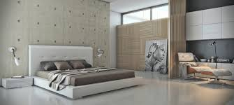 View In Gallery Concrete Bedroom Wall Covering