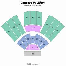 Concord Pavilion Seating Chart With Rows 14 Paradigmatic Toyota Amphitheatre Wheatland Seating Chart