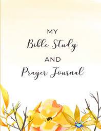 Bible Study Design My Bible Study And Prayer Journal Christian Womens Bible