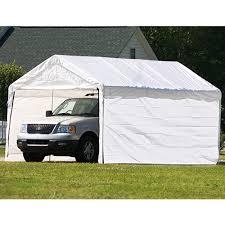 12 x 20 2 dia enclosed carport canopy 8
