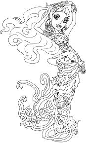 Small Picture Moster High Coloring Pages Cool Monster High Coloring Pages