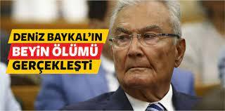 CHP Eski Genel Başkanı Deniz Baykal Beyin Ölümü GerçekleştiBüyük Sivas  Haber   Sivas Haberleri   Haberler