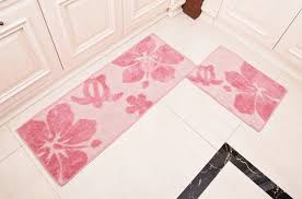 trick to prevent fatigue while cooking in kitchen nice looking kitchen design with rectangulat pink