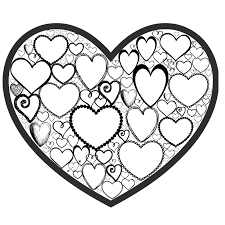 Small Picture Free Valentines Day Colouring Page for Adults Crafts on Sea