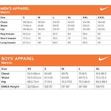 13 Punctual Nike Junior Size Guide