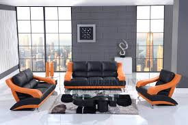 Orange Living Room Sets Modern Line Furniture Commercial Furniture Custom Made