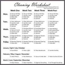 43 Best Cleaning Rota Images In 2019 Cleaning Cleaning