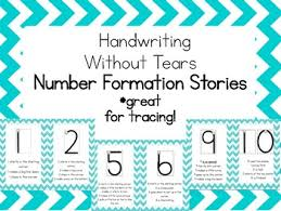 Handwriting Without Tears Letter Formation Worksheets