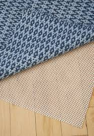 natural rubber non skid rug pad
