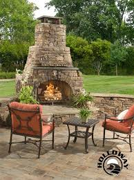 patio fire chimney height