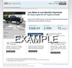road loan com financing from roadloans com now available on ebay motors ebay
