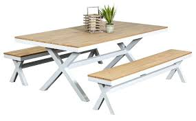 table excellent outdoor and chairs 3 bench set metal 8 seater setting bunnings trendy patio awesome