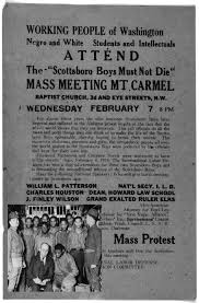 the new deal in the south us history ii american yawp  the new deal in the south poster advertising a mass protest the headline says the scottsboro boys must not die