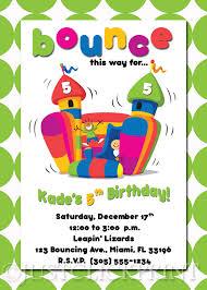 bounce house birthday invitations net bounce house birthday invitation printable middot just click print birthday invitations