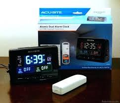 la crosse alarm clock equity by la digital alarm clock with night vision technology