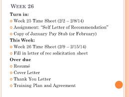 W Eek 26 Turn In Week 25 Time Sheet 2 2 2 8 14 Assignment
