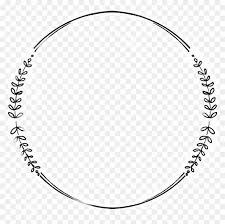 Circle Border Simple Circle Border Design Hd Png Download Logo Frame