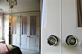 trendy how to make closet doors from sliding closet door knobs on