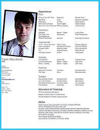 Actor Resume Nice Actor Resume Template To Boost Your Career Check More At 9