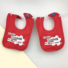 twin or triplets new baby shower gift set for twins