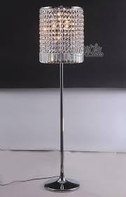 crystal floor standing lamp
