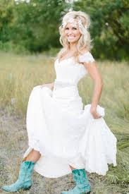 Country Wedding Style Dresses