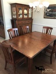 another beautiful amish dining room set installed our customers were ecstatic to receive their new solid wood dining table and chairs with matching custom