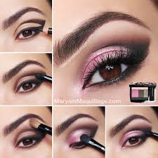 rose coquette smokey eye makeup tutorial bmodish