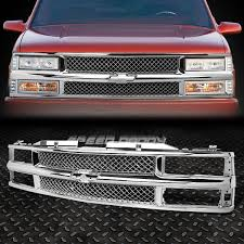 FOR 94-00 CHEVY C10 C/K/TAHOE/BLAZER FRONT BUMPER CHROME ABS ...