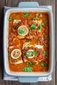 Mediterranean Baked Fish Recipe with ...