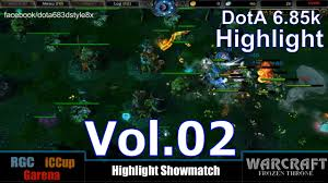 dota 1 highlight showmatch 6 85k rgc asia public vol 02 youtube