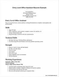Resume Examples Entry Level Medical Assistant Resumes Samples Resume