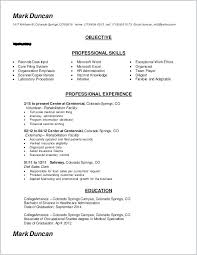 Word 2003 Resume Template Free Easy Resume Template Word Free Sample