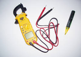 electrical tools names and uses. multi-meter (left), electrical sensor (right) tools names and uses
