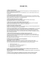 Sample Teen Resume Resume