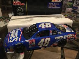 2001 jimmie johnson lowes power of pride pre rookie first cup car 1 of 999 ebay