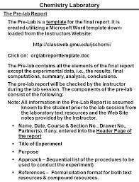 Chemistry Lab Report Template Word - Tier.brianhenry.co