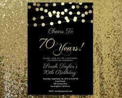 Printable 70th Birthday Invitations 14 70th Birthday Invitation Card