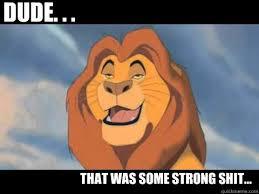 The High Lion King memes | quickmeme via Relatably.com