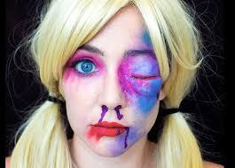 tea is for teagan harley quinn cosplay makeup tutorial