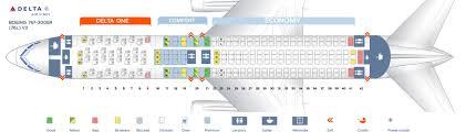seat map delta airlines boeing 767 300er v3 76l
