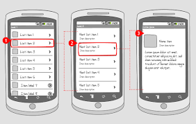 Android Design Patterns Delectable Drill Down Navigation Android Interaction Design Patterns