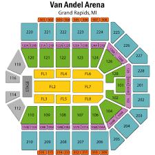 Van Andel Arena Seating Chart Wrestling Van Andel Arena Tickets Van Andel Arena Events Concerts
