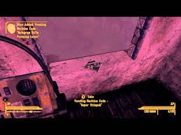 Fallout New Vegas Dead Money Vending Machine Codes Classy ClaytonKillz YouTube Gaming