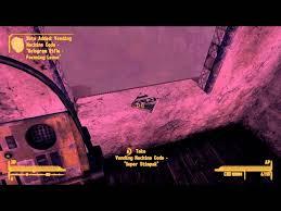 Fallout New Vegas Dead Money Vending Machine Codes Classy ClaytonKillz YouTube Gaming