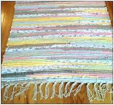 cotton rag rugs washable cotton rag rugs black cotton rag rugs machine washable