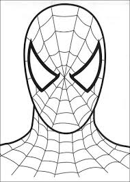 Small Picture The Head Of Spider man coloring page Free Printable Coloring Pages