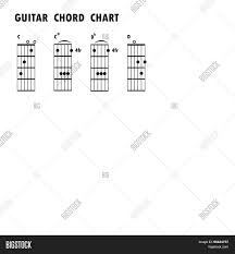 Music Notes Chart Guitar Set Music Notes Vector Photo Free Trial Bigstock