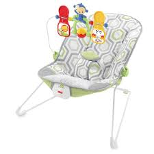 Fisher-Price® Baby's Bouncer in Geo Meadow™ | buybuy BABY